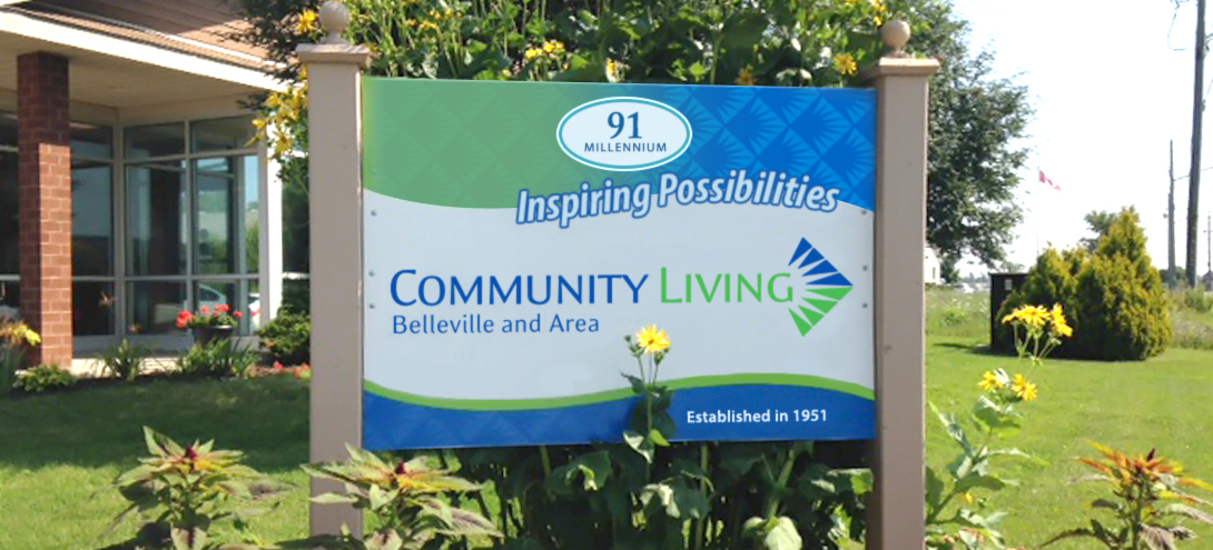 Community Living Sign